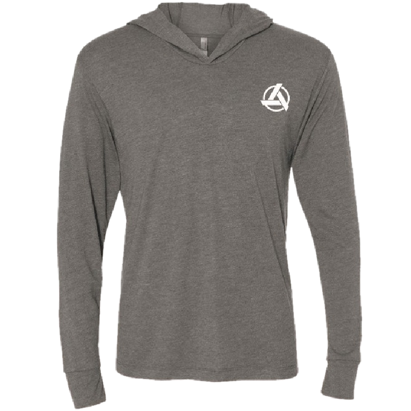 SpeedKore Long Sleeve Premium Heather Hooded Tee
